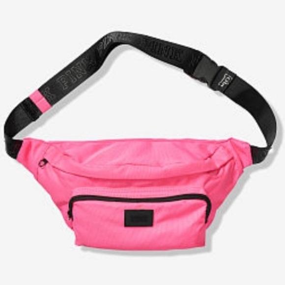 PINK Victoria's Secret Handbags - NEW VS PINK Oversized Belt Bag fanny pack